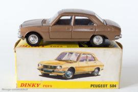 Peugeot 504 berline - Dinky Toys Espagne réf. 1452