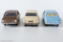 Peugeot 504 berline - Dinky Toys France & Espagne réf. 1415, Espagne réf. 1452