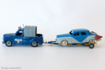 """Renault Colorale Chariot Police """"zone bleue"""" transportant la Renault Frégate - C.I.J réf. 3/65 et 3/52"""