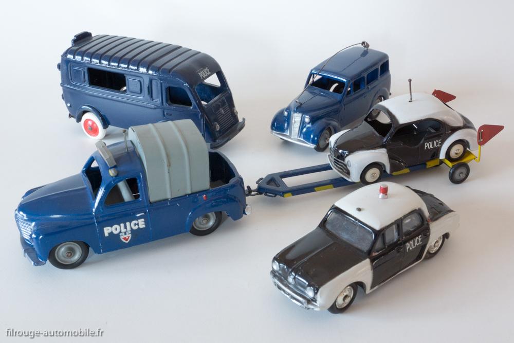 La famille Renault Police par C.IJ (manque Estafette)