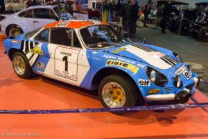 Rétro Passion Rennes 2018 - Alpine 1800 1ère Tour de Corse 1973
