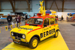 Rétro Passion Rennes 2018 - Renault 4 Berger Tour de France