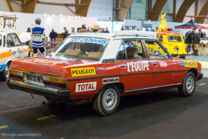 Rétro Passion Rennes 2018 - Peugeot 604 Tour de France