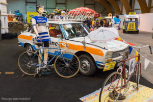 Rétro Passion Rennes 2018 - Peugeot 504 Tour de France