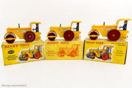 Dinky Toys réf. 90 A / 830 - Rouleau Richier - Les trois boites