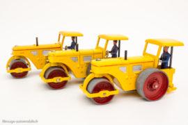 Dinky Toys réf. 90 A / 830 - Rouleau Richier - nuances de jaune