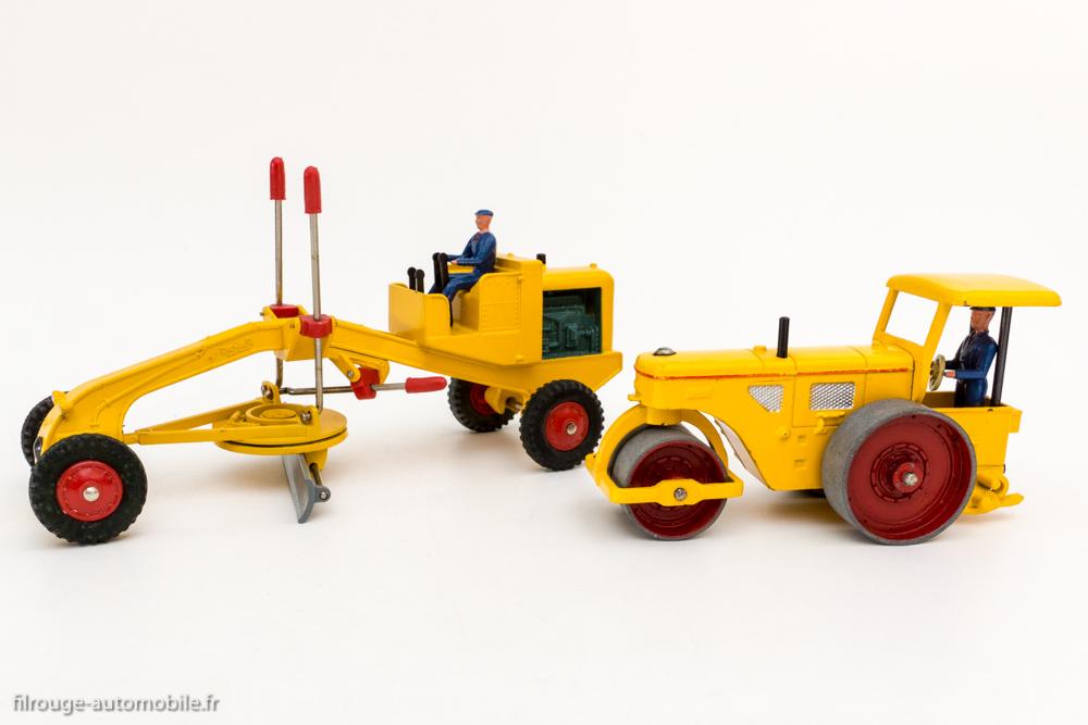 Dinky Toys réf. 90 A et 886 - Rouleau Richier et profileur Richier