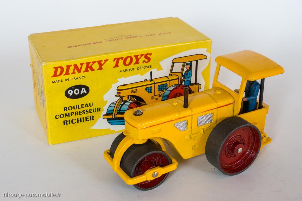 Dinky Toys boite repro 830 rouleau compresseur richier