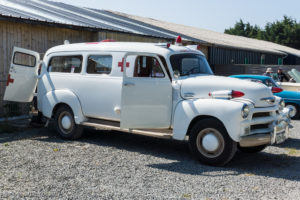 Tour de Bretagne 2018 - Chevrolet ambulance 1954