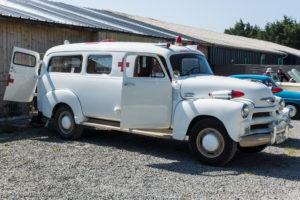Tour de Bretagne 2018 - Chevrolet ambulance 1954