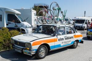 Tour de Bretagne 2018 - Peugeot 504 Tour de France