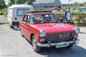 Tour de Bretagne 2018 - Peugeot 404 et caravane Eriba