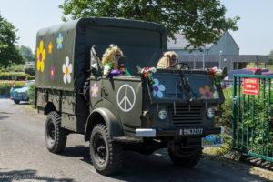 Tour de Bretagne 2018 - Renault militaire / hippies