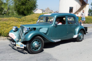 Tour de Bretagne 2018 - Citroën Traction
