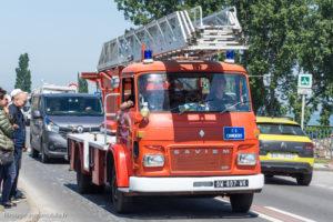 Tour de Bretagne 2018 - Grande échelle de pompier Saviem
