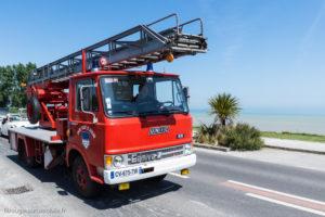 Tour de Bretagne 2018 - Grande échelle de pompier Unic