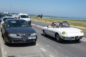 Tour de Bretagne 2018 - Alfa Roméo Duetto et 166 - deux générations, même ADN