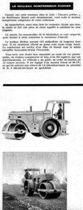 Le rouleau Richier dans le Meccano Magazine