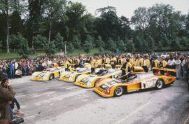 Renault Alpine A 442 et 443 - les 4 engagées des 24 Heures du Mans 1978
