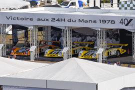 Le Mans Classic 2018 - Hommage Renault à la victoire 1978