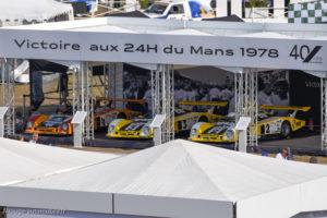 Le Mans Classic 2018 - Hommage Renault victoire 1978