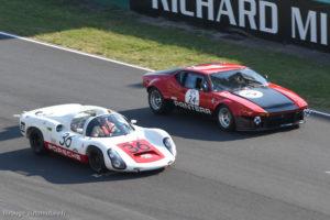 Le Mans Classic 2018 - DE TOMASO Pantera Gr. IV 1972 & PORSCHE 910 1967