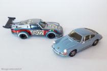 Porsche 911 S de 1968 et son dérivé Porsche Turbo RSR de 1974 - Kit AMR