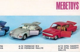 Porsche 912 - Catalogue Mebetoys 1969
