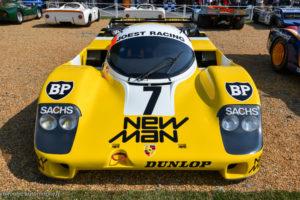 Le Mans Classic 2018 - Porsche 956 vainqueur Le Mans 1984 et 1985