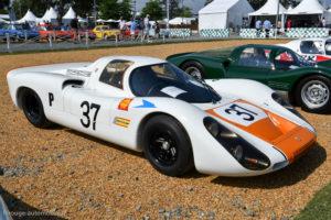 Le Mans Classic 2018 - Porsche 908