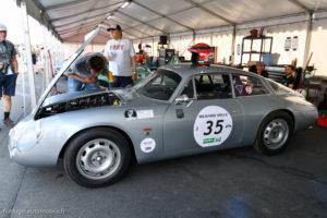 Le Mans Classic 2018 - ALFA ROMEO Giulietta SZ 1962
