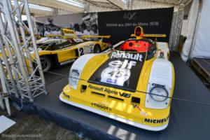 Le Mans Classic 2018 - Renault Alpine A 443 Le Mans 1978