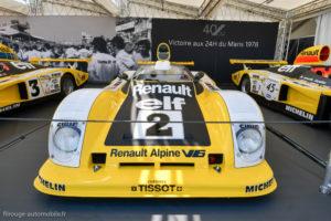 Le Mans Classic 2018 - Renault Alpine A 442 B vainqueur du Mans 1978