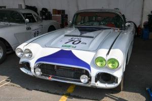 Le Mans Classic 2018 - CHEVROLET Corvette C1 1962