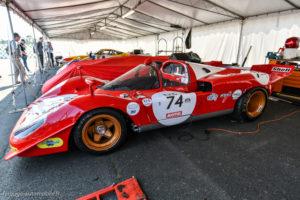 Le Mans Classic 2018 - FERRARI 512 S 1970