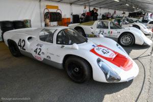 Le Mans Classic 2018 - PORSCHE 906 Carrera 6 1966