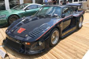 Le Mans Classic 2018 - PORSCHE 935 KREMER de tourisme
