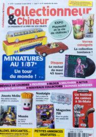 Collectionneur & Chineur, n°275 du 3 août 2018
