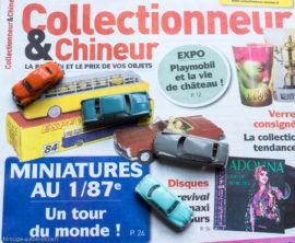 Collectionneur & Chineur, n°275 du 3 août 2018 avec miniatures Jouef et Norev