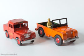 Dinky Toys réf.340 et 255 - Land Rover et Land Rover Mersey Tunnel