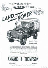 Publicité Land Rover
