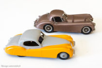Jaguar XK 120 - Dinky Toys GB réf. 157 & Western Models (version record Montlhery 1952)