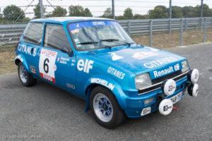 Autobrocante de Lohéac 2018 - Exposition Renault 5 Alpine Groupe 2 1978