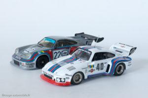 Porsche 935 de 1976 (Solido) et Porsche 911 Carrera RSR turbo de 1974 (Starter)