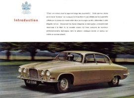 Jaguar Mark X - Brochure 1962