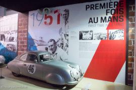 Porsche at Le Mans - Porsche 356 de 1951