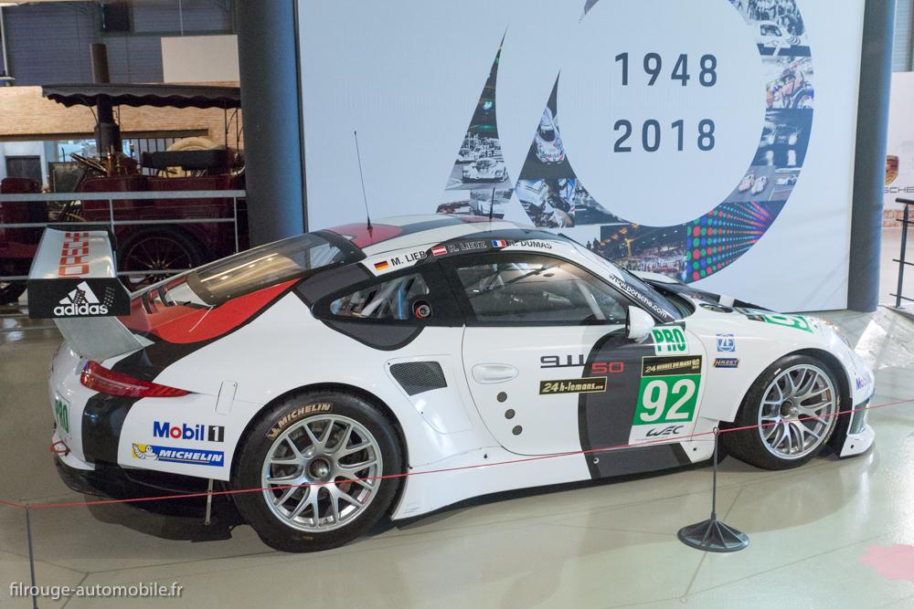 Porsche 911 RSR 991 GT Pro de 2013