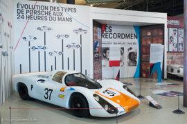 Porsche at Le Mans - Porsche 907/8 de 1971