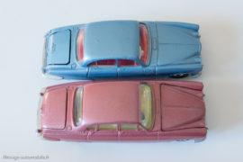 Jaguar Mark X - Corgi Toys 238 & Dinky Toys 142