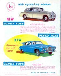 Catalogue Dinky Toys 1963 avec Jaguar Mark X réf. 142